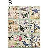 Cuadro - Mariposas (40 x 50 cm) - B