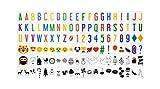 NectaRoy Lightbox Ergänzungsset Buntes Licht Box Groß-Buchstaben Set, 118 Zeichen Erweiterungs-Set...
