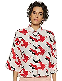 Amazon Brand - Symbol Women's Oversized Shirt