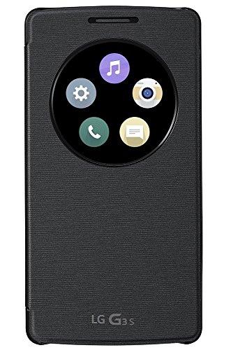 LG CCF-490G.AGEUTB G3s QuickCircle Snap Case für Smartphone schwarz