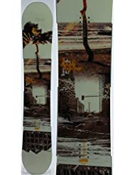Snowboard occasion Nitro Double exposure arbre 2017 + fixation