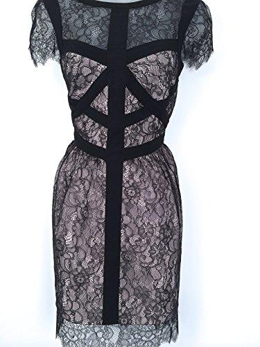 Karen-Millen-Black-Lace-Panel-Dress-DS193