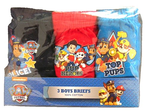 Boys-3-Pack-Paw-Patrol-Briefs-18-24-Months-2-3-3-4-4-5-Years-24892-NEW