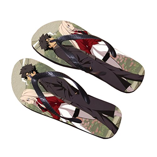 Bromeo Fate Zero Fate/stay Night Anime Unisexe Flip Flops Tongs 223
