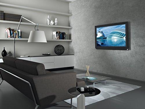 ^ Meliconi SlimStyle 600 S, Supporto Fisso Ultra Sottile da Parete per Tv a Schermo Piatto da 50'' a 80'', VESA 600×400, 400×400, Nero recensioni dei consumatori