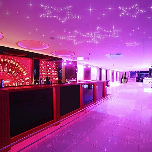 PIXLUM - LED Sternenhimmel Deckenleuchte Lampe Deckenlampe Nachtlicht, Starterset 2