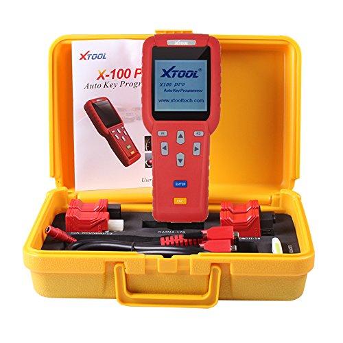 Xtool X100Pro Auto Schlüssel Programmierer für Fahrzeug ECU Wegfahrsperre Pin-Code Reader Multi Marke Cars Diagnose Tools Update online (Nissan Auto-teile Für Spiegel)