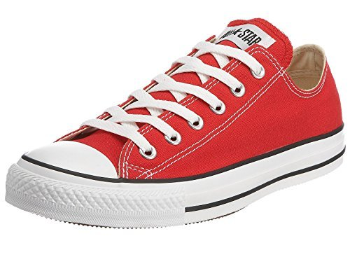 Converse Unisex Chuck Taylor All Star Ox Low Top Classic Red Sneakers - 5.5 Men 7.5 Women - Classic 5.5