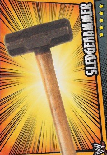 SLEDGEHAMMER Prop Card Slam Attax RUMBLE Trading Card (Games Sledgehammer)