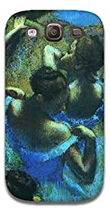 The Racoon Grip Dancers in Blue - Degas hard plastic printed back case / cover for Samsung Galaxy S3 Neo