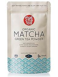 108g Matcha Tee in Premium Qualität / Grüner Tee aus kontrolliertem Bio Anbau