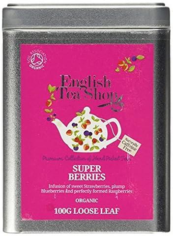 English Tea Shop Super Berries Organic Loose Tea 100