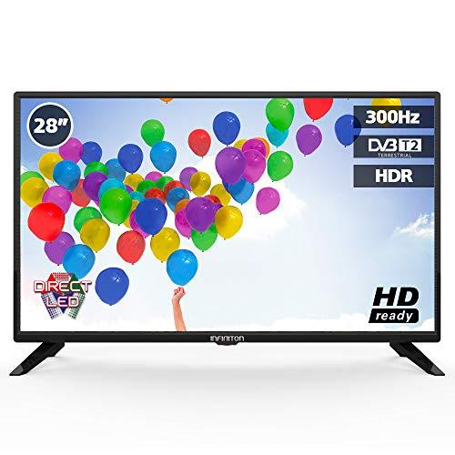 "INFINITON Fernseher 28"" (HD, Triple Tuner, DVB-T2, USB, HDMI) [Energieklasse A+]"