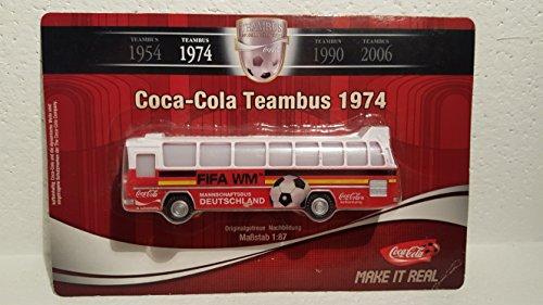 Coca Cola - Coca Cola Team Bus von 1974 : Fifa - Fußball WM