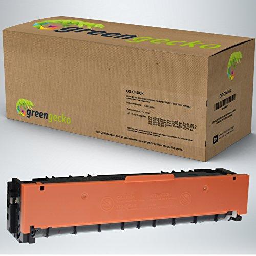 XXL Toner schwarz ersetzt HP CF400X / 201X | für Hewlett-Packard Color LaserJet Pro M252 dw, M252 n, M274 dn, M274dn, M274n, MFP M277dw, M277n | Druckerpatrone schwarz, neuster Chip