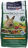 Vitakraft d'aliments pour lapin nain junior, Luzerne, carottes et bleuets, trivita-Complex, Emotion Beauty Selection Junior (5X600g)