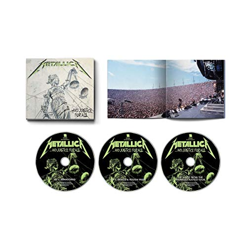 ...And Justice For All (Remastered) - 3CD Expanded Edition (Negative Keeper)