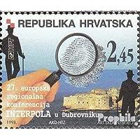 croatie 458 (complète.Edition.) 1998 Regionalkonferenz interpol (Timbres pour les collectionneurs)