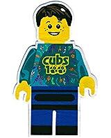 Cub Scouts Cubs100 Design Minifig Badge