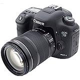 Canon EOS 7dii + ef18135is Cámara Réflex Negro