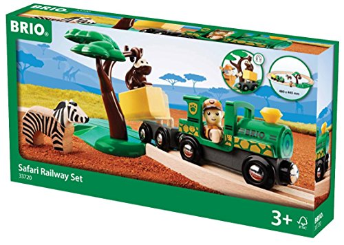 Brio 33720 - Brio Safari Bahn Set