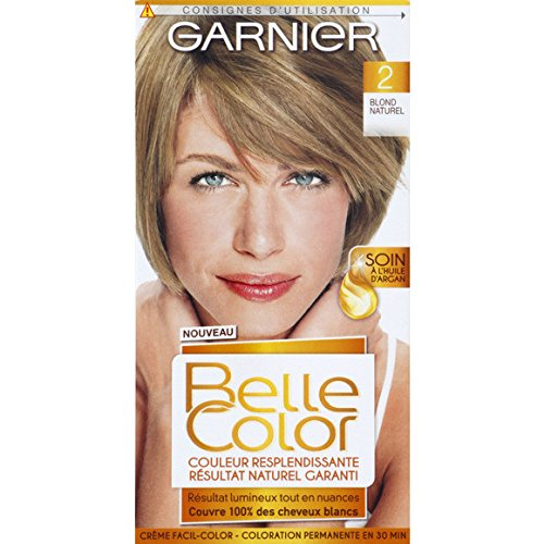 garnier belle color crme facil color coloration permanente 2 blond - Belle Color Blond Naturel