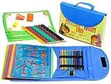 Schablonenkit zum Zeichnen, für Kinder, 54-teilig, 280 Formen, ab 3 Jahren von Art with smile