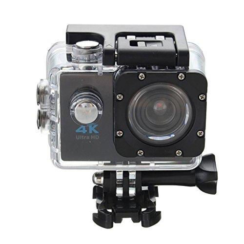 Sport Camera, Sports, Digital Camcorder, Jaminy étanche ultra 4K Wifi HD 1080p Sports Action Camera DVR Cam caméscope noir