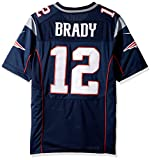 Nike NFL New England Patriots Tom Brady American Football Game Jersey in navy blau