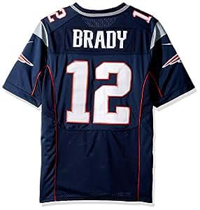 Nike New England Patriots Nfl Game Team Jrsy - kurzärmeliges T-shirt Herren, Farbe Dunkelblau, Größe XL