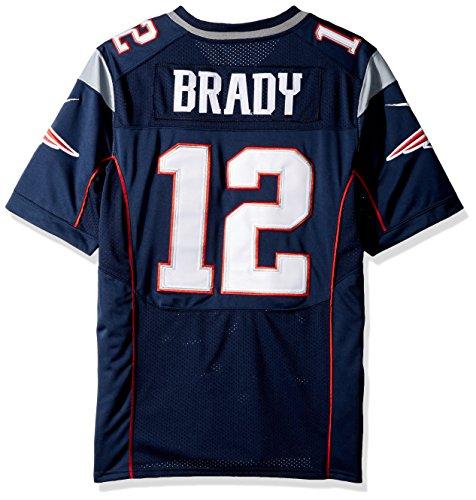 Nike New England Patriots Nfl Game Team Jrsy - kurzärmeliges T-shirt Herren, Farbe Dunkelblau, Größe S