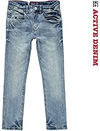 Blue Rebel Garçon Jeans SOLDER, Bleu, taille 140