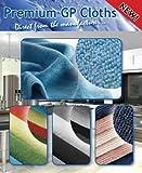 Premium Mikrofasertuch, 40 x 40 cm (10er-Pack), 12 Farben zur Auswahl, Polieren, Reinigen