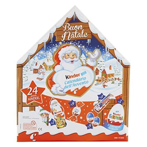 Kinder Calendario Avvento Appendibile Snack Al Cioccolato 24 Pezzi