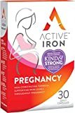 Active Iron Pregnancy & Breastfeeding | 30 Iron Capsules | Iron Supplement | Non-Constipating Absorption | Scientifically-Tested | 1-Month Supply