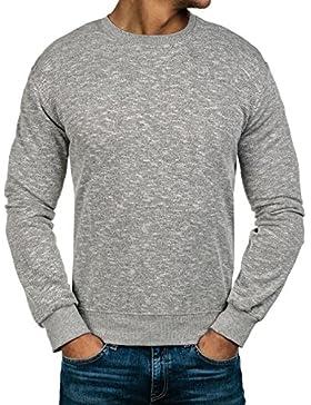 BOLF – Felpa – Sweatshirt – Manica lunga – Pullover – Girocollo – Sport – Uomo 1A1