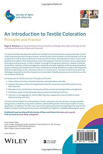 An Introduction to Textile Coloration: Principles and Practice (SDC–Society of Dyers and Colourists)