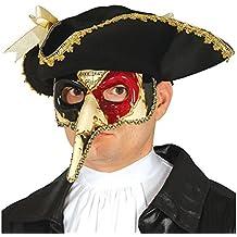 Antifaz Veneciano con la nariz alargada