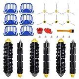 Kit Pièces accessoires pour iRobot Roomba serie 600 605 610 615 616 620 621 625 630 631 632 650 651 660 670 671 680 691 696(set 2)