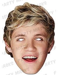 Gr/össe ca 30x21 cm empireposter Simon Cowell X Factor Promi Maske Pappmaske
