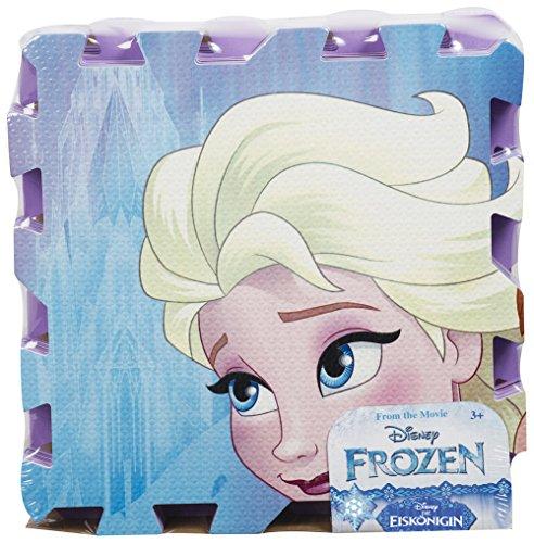 Brigamo FR8755 – Disney Frozen Die Eiskönigin Puzzle Matte, Puzzlematte aus Schaumstoff, Spielteppich, Spielmatte - 3