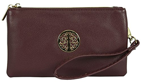 Big Borsetta polso Shop Big Maroon donna Handbag da Handbag 5qwzO1x