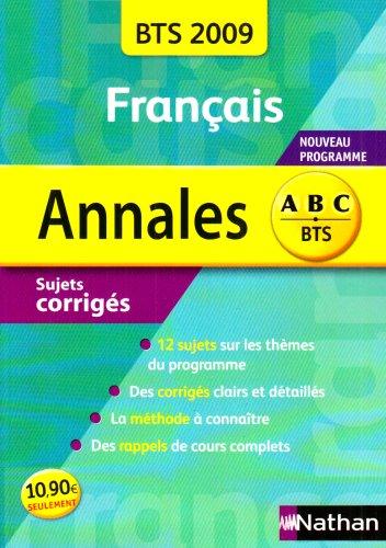 Annales Français BTS 2009 (Faire voir / Le détour) par Miguel Degoulet