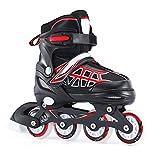 Rollerblades, Skates, Freestyle Speed Slalom Inlineskates, In Zwei Farben Und DREI Größen Erhältlich, Farbenfrohes Design, Für Kinder, Jungen, Mädchen