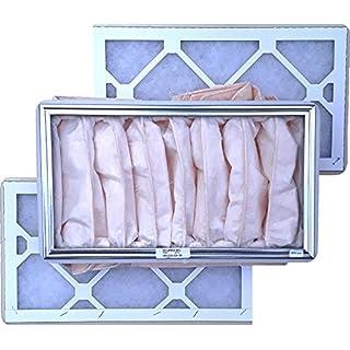 Ersatzfilter Set G3/F7 zu KWL 650-2x Vorfilter G3, 1x Feinfilter F7 - alternativ zu ELF-KWL 650/3/3/7 - Ersatzfilterset 3-teilig mit Dichtungen