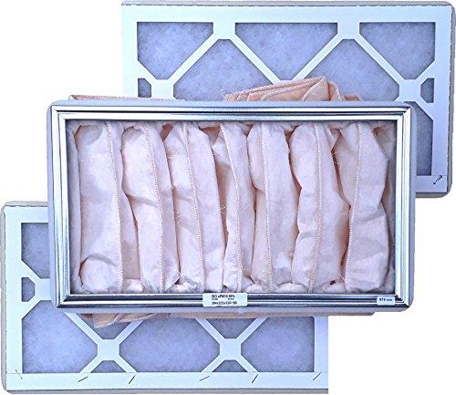 Ersatzfilter Set G3/F7 zu KWL 650-2x Vorfilter G3, 1x Feinfilter F7 - alternativ zu ELF-KWL 650/3/3/7 - Ersatzfilterset 3-teilig mit Dichtungen -