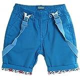 BEZLIT -  Pantaloncini  - Pantalone capri - A quadri - ragazzo Blu blu chiaro