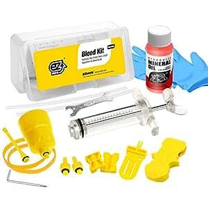 Revmega kit per spurgare i dischi idraulici dei freni Shimano, olio minerale fluido da 50 ml