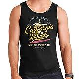 Coto7 California Beach Ride The Waves Men's Vest