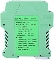 DC Signal Conditioner, DC 24V DC Current Signal Isolator Transmitter 4-20mA PLC Detect Signal Conditioner(1 in